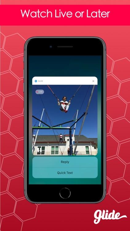 Glide - Live Video Messenger screenshot-3