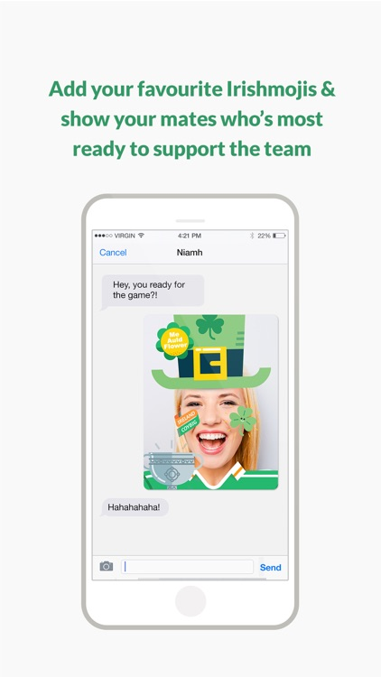 Irishmoji - Irish emoji-stickers! screenshot-4