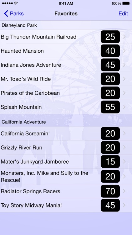 Wait Times for Disneyland screenshot-4