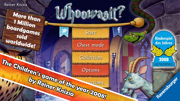 Whoowasit? - Children's game of the year 2008