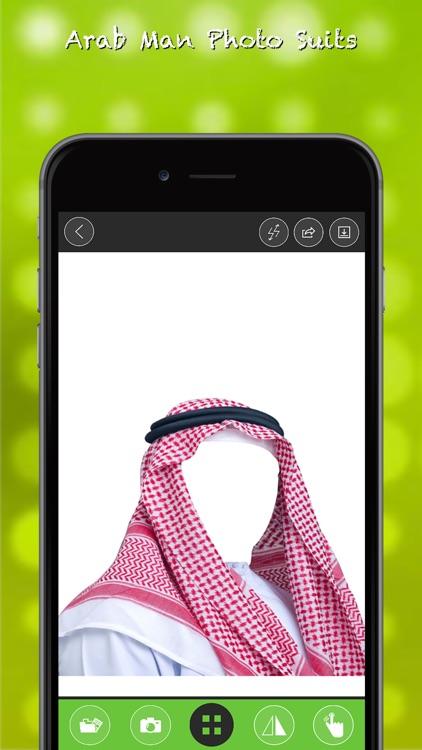 Arab Man Suits Photo Montage screenshot-4