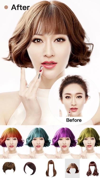 Hair Style Salon&Color Changer screenshot-3