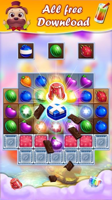 マジックファームヒーロースーパー: ゼリークラッシュキャンディーパズル無料ゲームのスクリーンショット2