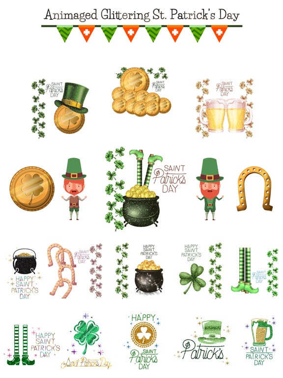 Glittering St. Patrick's Day screenshot 6