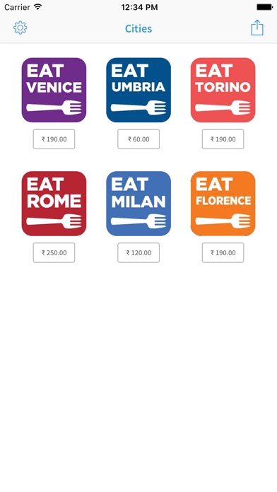 Eat Italy app image