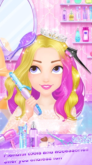 Dress up hair fashion