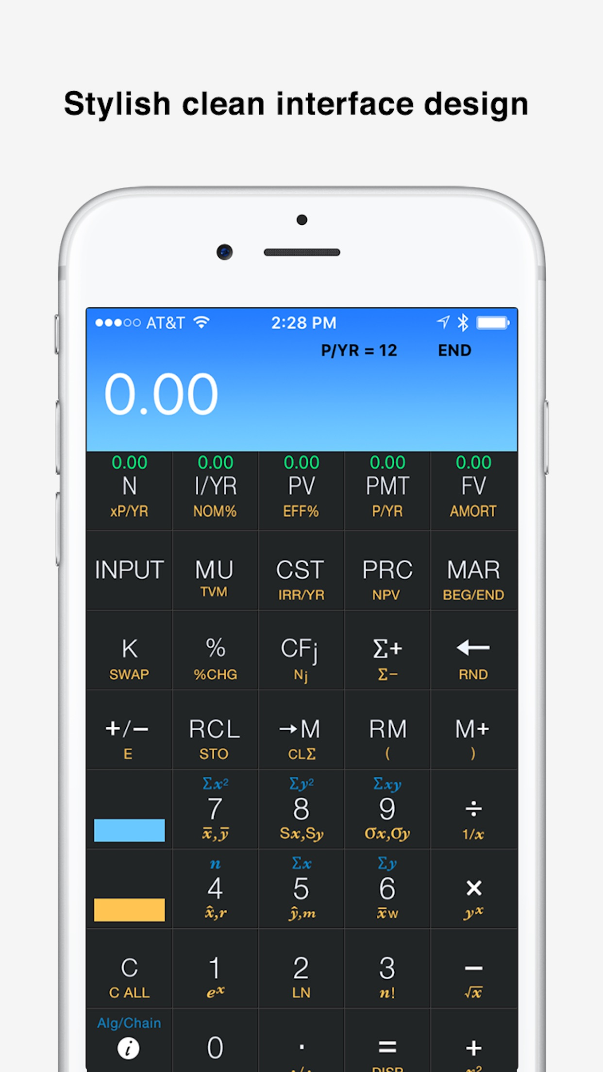 10bii Financial Calculator by Vicinno Screenshot