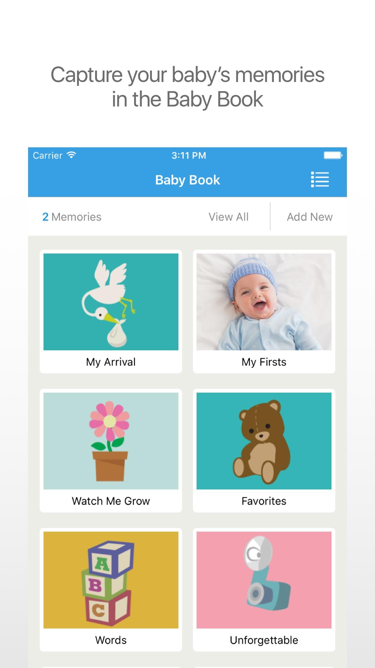 WebMD Baby: Feeding, Diaper, and Sleep Tracker Screenshot