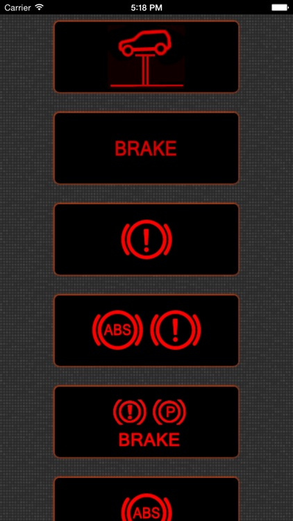 App para Mini Cooper luces de advertencia y problemas de Mini Coopers screenshot-1