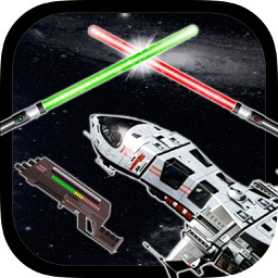 Stickers galaxy wars – photomontage for funny pictures