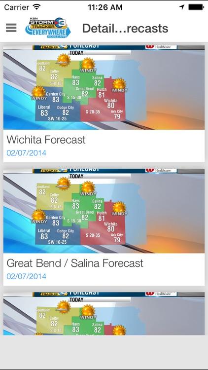Storm Tracker 3 - Wichita Radar & Forecasts screenshot-4