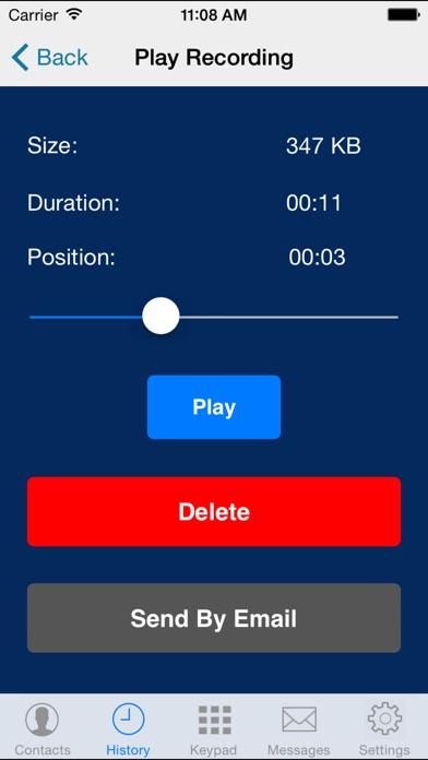 Screenshot for SessionTalk Pro Softphone in Lebanon App Store