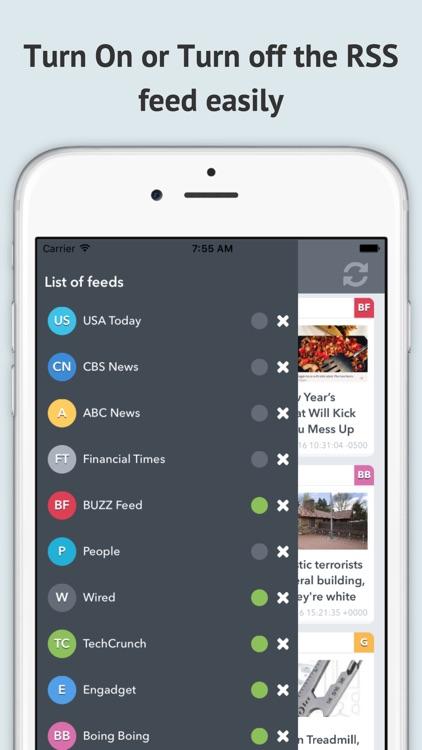 Popular RSS Feeds screenshot-4