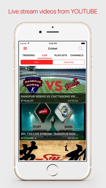 Free Video Sports Player & Live Stream For Youtube by Thuy Dung
