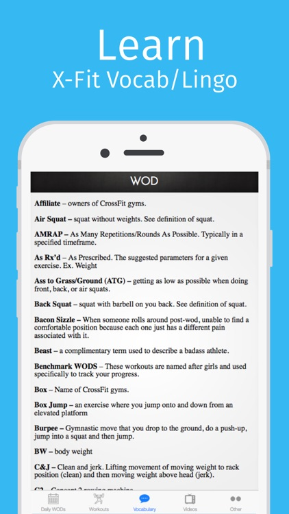 WOD Buddy: Workouts of the Day screenshot-3