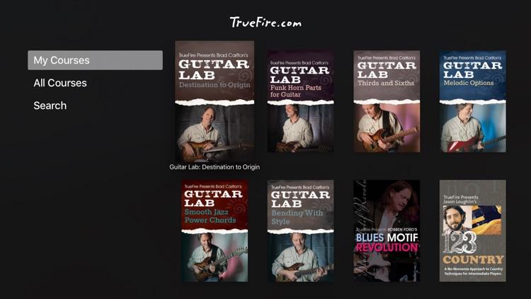 TrueFire Guitar Lessons