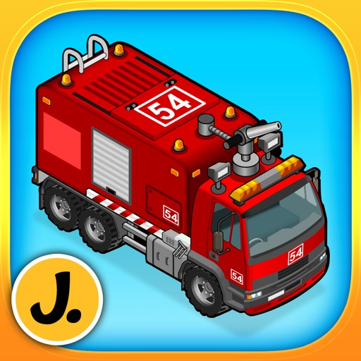 Cars, Trucks and other Vehicles - puzzle game for little boys and preschool kids - Free