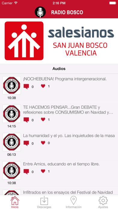 Radio Bosco Colegio Salesianos Screenshot