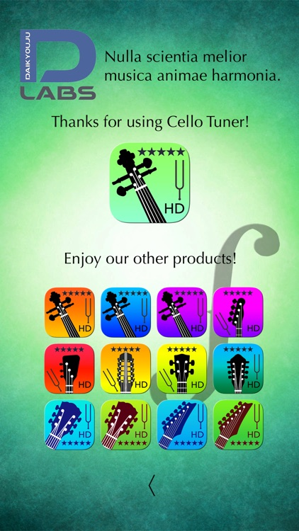 Cello Tuner Pro - Strings Tuner screenshot-3