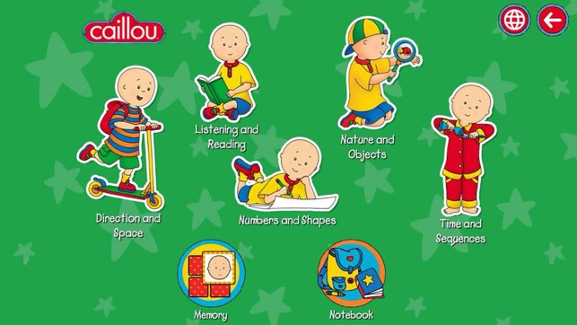 Caillou Weihnachten.Learn With Caillou Im App Store