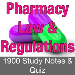 Pharmacy Law & Regulations 1900 Study Notes & Quiz