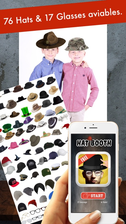 Hat Booth - Funny your photo