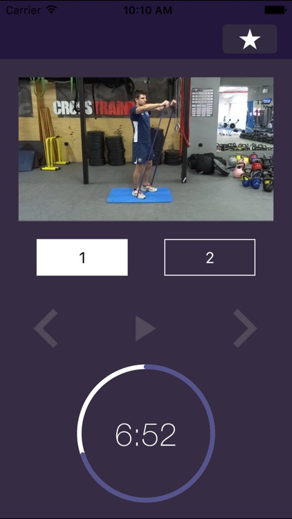 7 min Band Workout: Resistance Elastic Rubber Exercises to Tone Up Anywhere. Forget the gym: Total body training exercise routine sculpts with just one piece of equipment screenshot-4