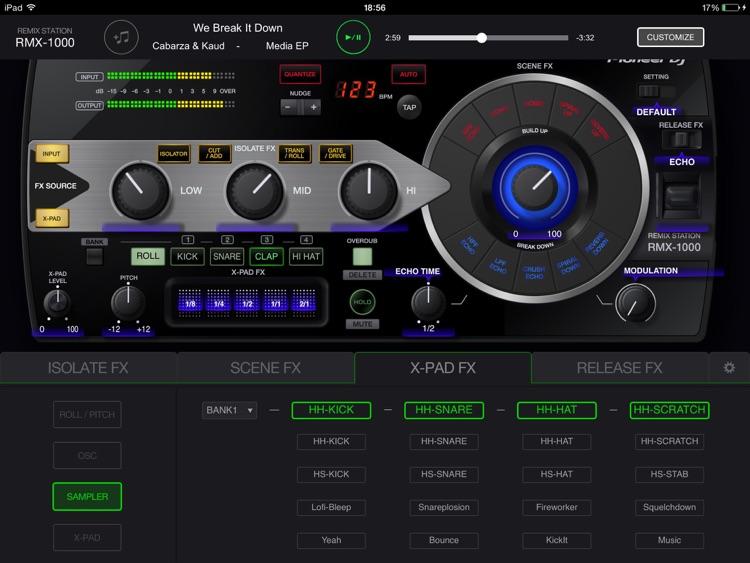 RMX-1000 for iPad