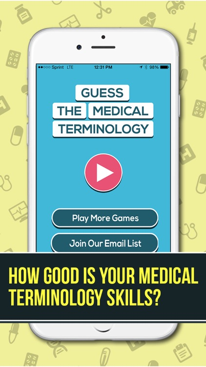 Guess The Medical Terminology Pro- A Word Game And Quiz For Students, Nurses, Doctors and Health Professionals