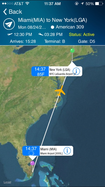 LaGuardia Airport (LGA) + Flight Tracker New York City screenshot-0