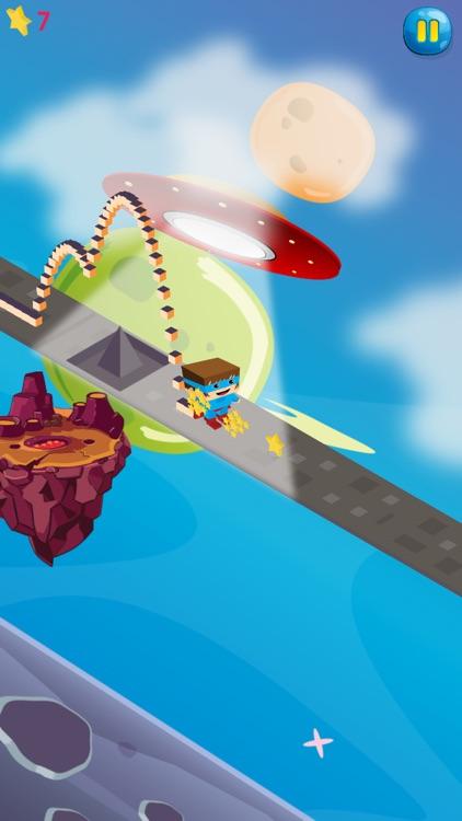 Super Hero - Galaxy Path screenshot-3