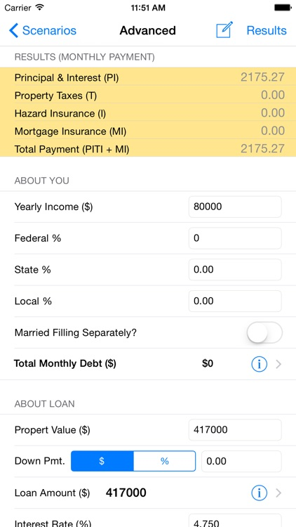 Loan Calc - Mortgage Calculators (Est Tax Savings)