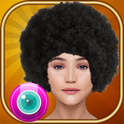 Funk Yourself –  Try Afro Hairstyles in Virtual Photo Booth for Cool Makeovers