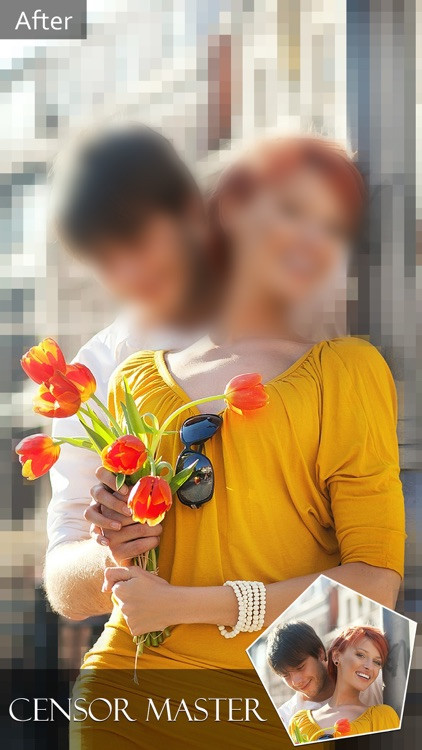 Photo Focus Effect.s Pro - Touch to Hide Face & Erase Background with Blur.red, Mosaic or Pixelate.d Filter.s