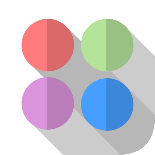 Circle Flow - Shade Spotter: Drag the dots and lines around icon