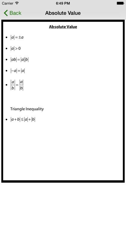 Formulus Free - Formulas for Calculus