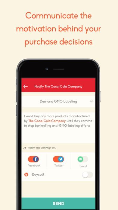 Buycott - Barcode Scanner & QR Bar Code Scanner Screenshot on iOS