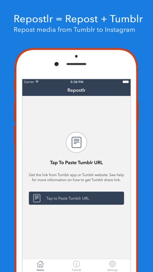 how to download video from tumblr app iphone