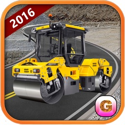 City Construction Road builder Simulator 2016 – free heavy excavator crane dumper bulldozer roller operator driver digger sim
