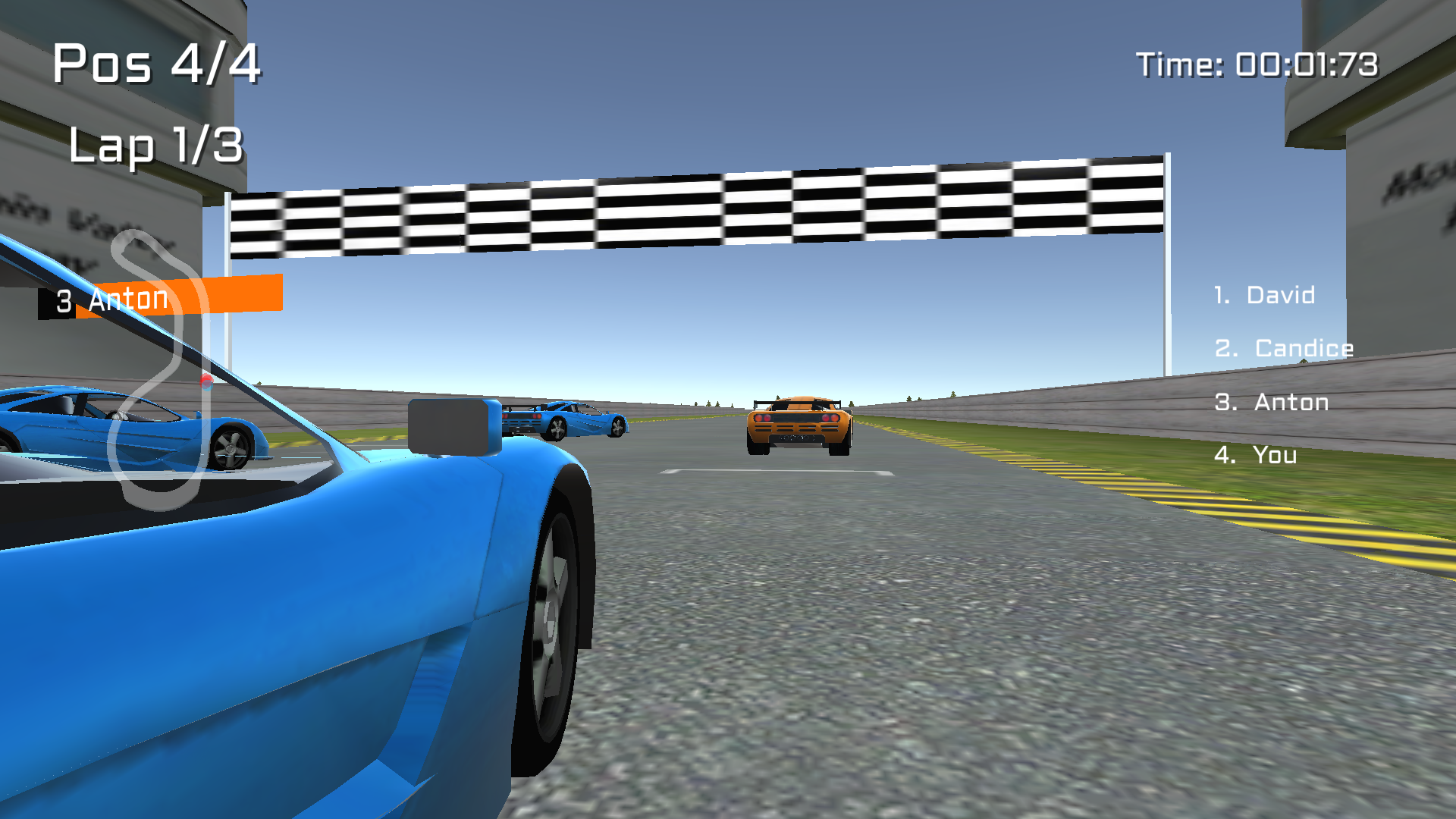Car Racing : Knockout 3D for TV screenshot 4