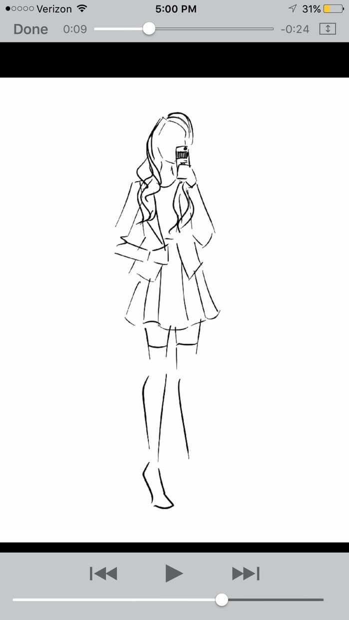 Chic Sketch Screenshot