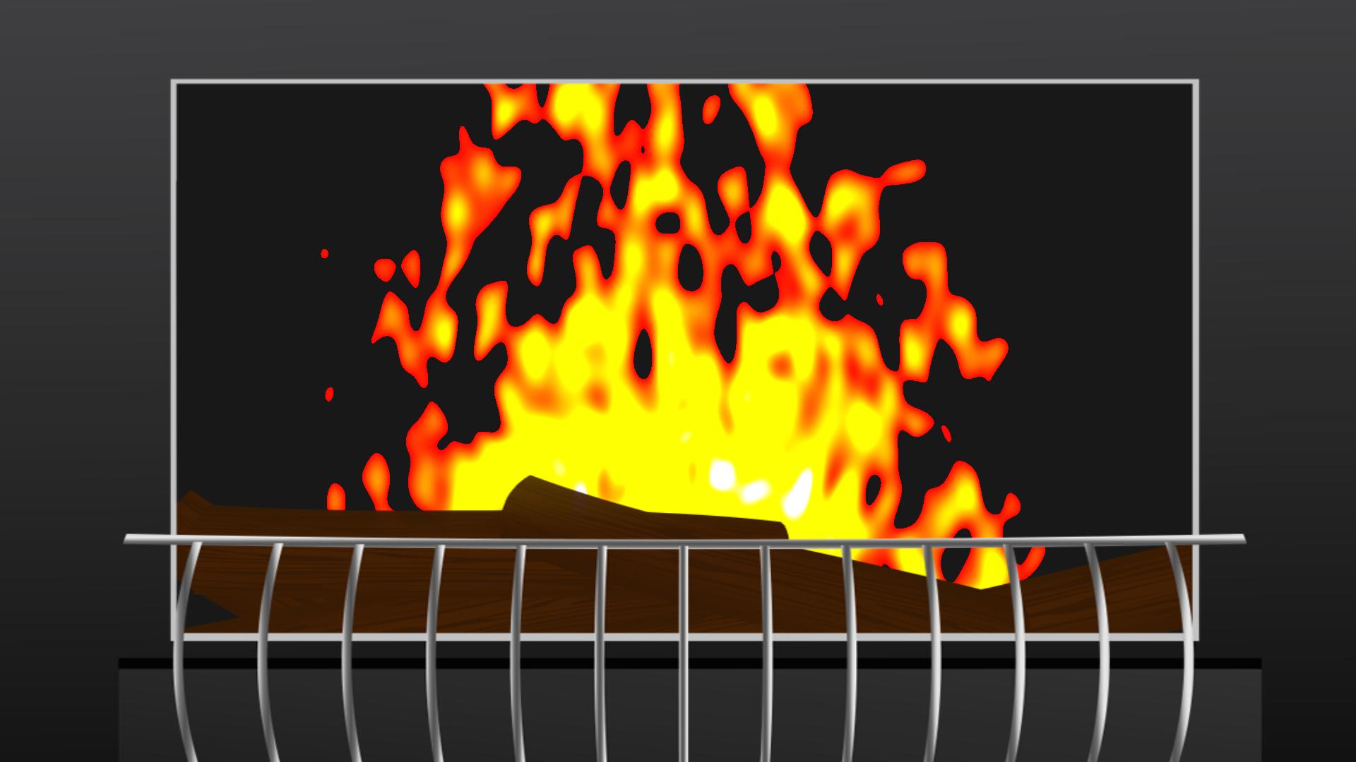 Sensory Flames - Free Fireplace for your TV screenshot 4