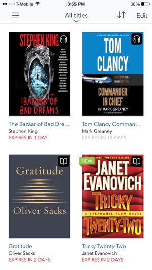 Overdrive ebooks audiobooks on the app store screenshots fandeluxe