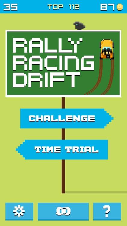 Rally Racing Drift - 8 bit Endless Arcade Challenge screenshot-4