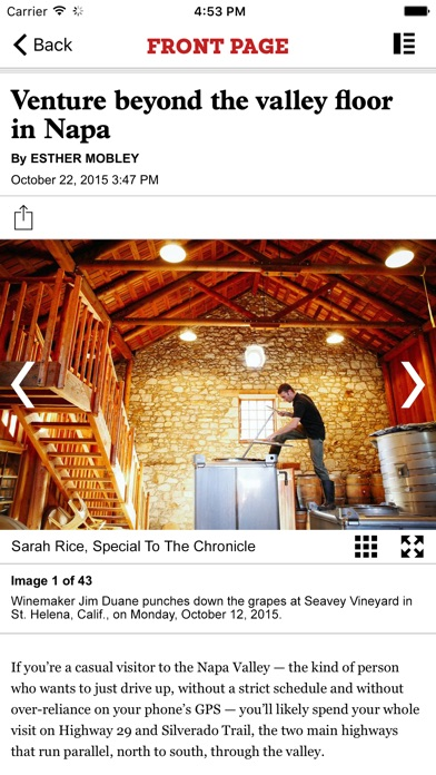 San Francisco Chronicle app image