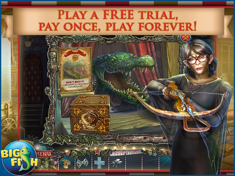 Twilight Phenomena: The Incredible Show HD - A Magical Hidden Object Game screenshot-0