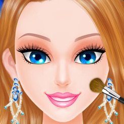 Princess wedding makeover salon : amazing spa, makeup and dress up free games for girls 4+