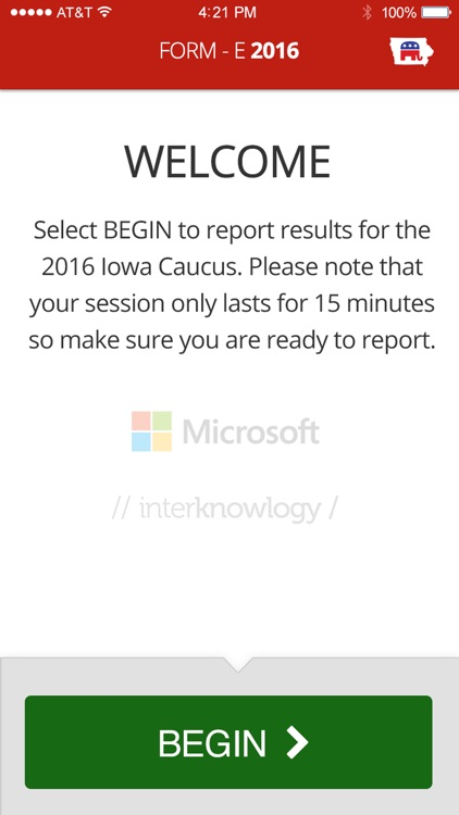 Iowa GOP Caucuses 2016
