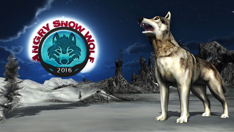 Angry Snow Wolf 2016 – 3D Wildlife alpha predator quest simulation