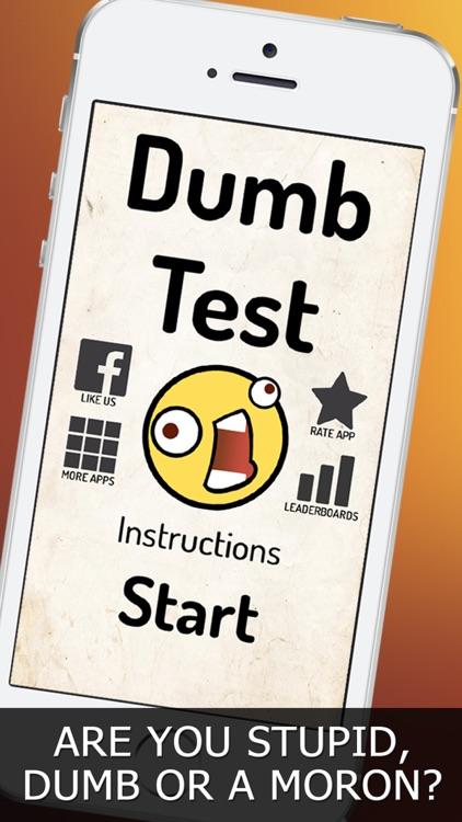 Dumb Test! screenshot-0